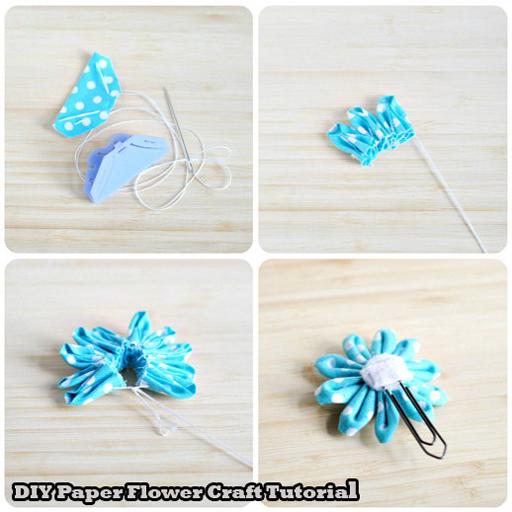 Paper flower craft tutorial apk download apkpure paper flower craft tutorial screenshot 10 mightylinksfo