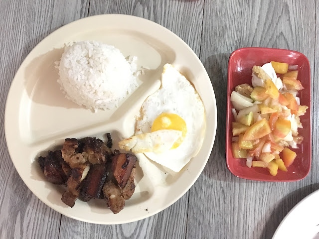 Mommy Phoebe's Place Liempo and Salted Egg