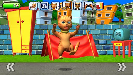 Talking Cat Leo: Virtual Pet 3.0 screenshots 2