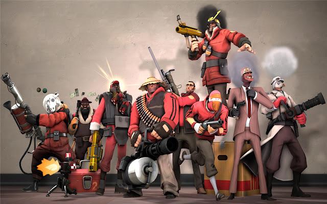 Team Fortress 2 Themes & New Tab