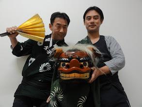 Photo: 2013年01月01日  元旦より獅子舞の仕事 今年は三が日連続 ありがたい新年