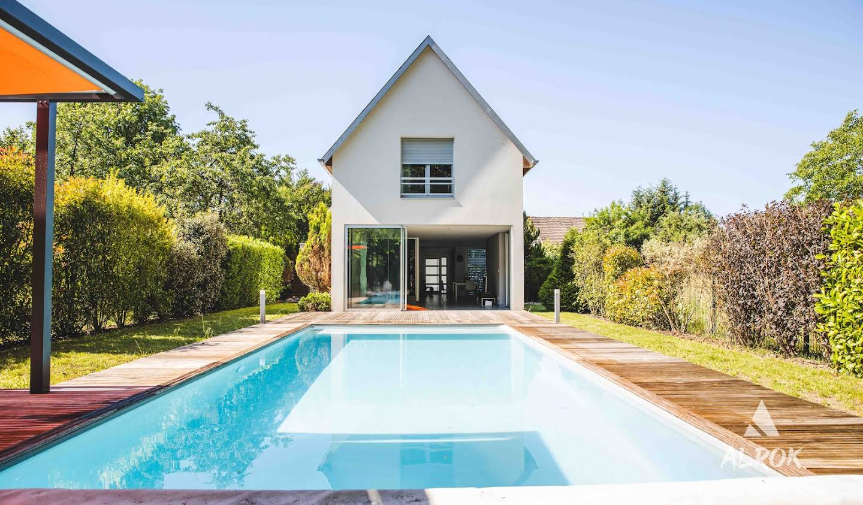 Villa avec piscine et jardin Guewenheim
