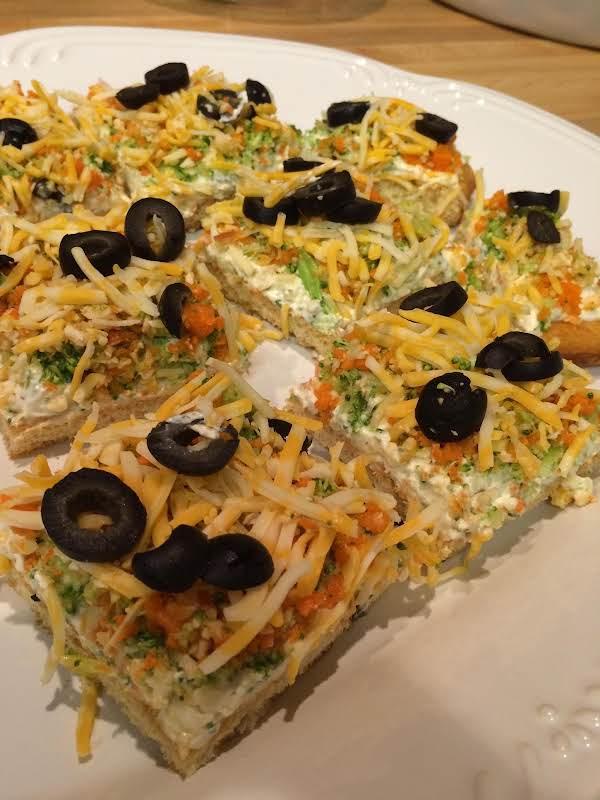 Cold Veggie Pizza Recipe
