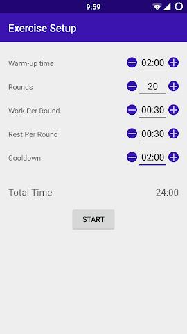 android SmartHIIT Training (AD-FREE) Screenshot 2