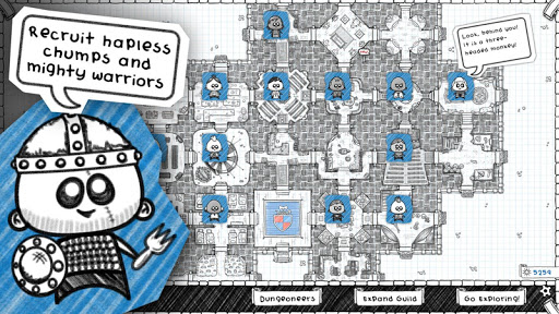 Guild of Dungeoneering - screenshot