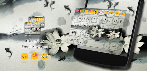 Ink Lotus Emoji Keyboard Theme - Apps on Google Play