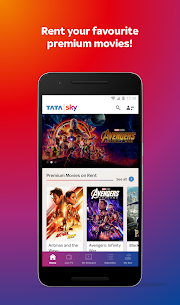 Tata Sky Mobile- Live TV, Movies, Sports, Recharge  App Download For Android and iPhone 1