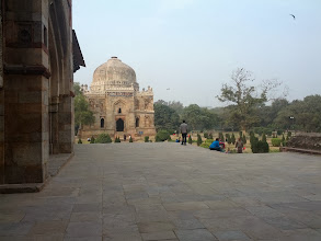 Photo: At Lodhi Garden in Delhi.