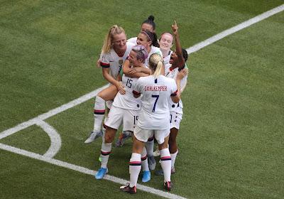 Vrouwen USA bibberend naar kwartfinale Olympische Spelen