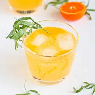 Clementine & Lemon Gin Cocktail