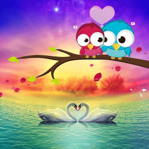 愛の白鳥カラフルな湖 漫畫 App LOGO-硬是要APP