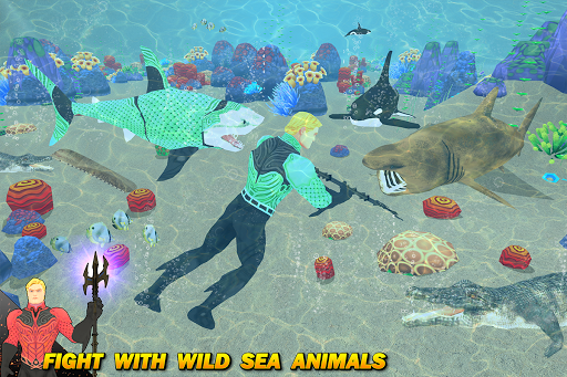 Multi Aqua Shark Hero Vs Sea Animals 1.2 screenshots 5