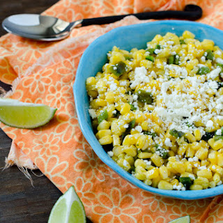 Corn Poblano Salad