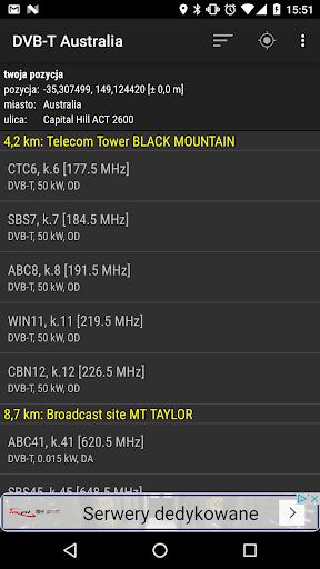 DVB-T Australia 1.09 screenshots 1