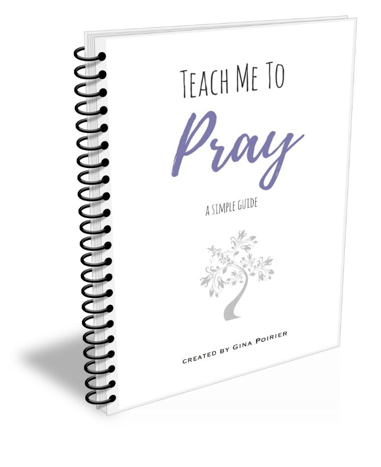 Teach Me To Pray Journal