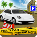 Multi Car Parking - Car Games for Free icon