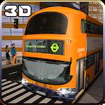City Bus Driver Simulator 3D Icon