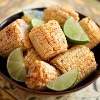 Broiled or Grilled Chili Lime Corn on the Cob.