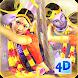 3D Radha Krishna Jhulan Live Wallpaper