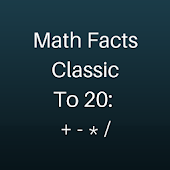 Math Facts: Classic To 20
