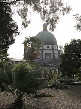 Photo: The church of the Beatitudes was closed on Christmas!