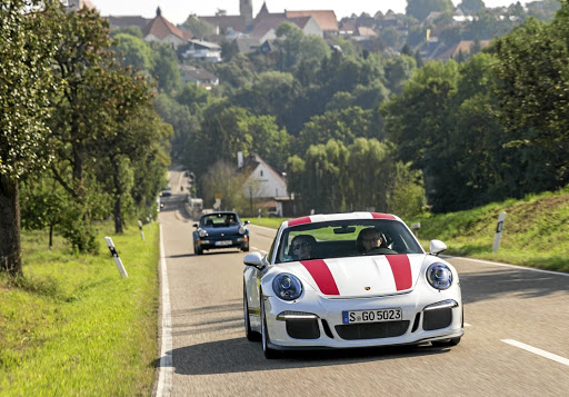Mark's driving highlight was skipping lunch to spend more time with the Porsche 911 R
