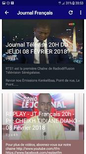 Journal Tv Sénégal for PC-Windows 7,8,10 and Mac apk screenshot 4