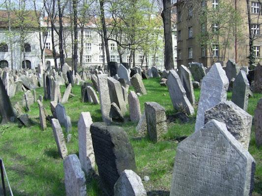 Vecchio cimitero ebraico Praga di D'ALESSIO