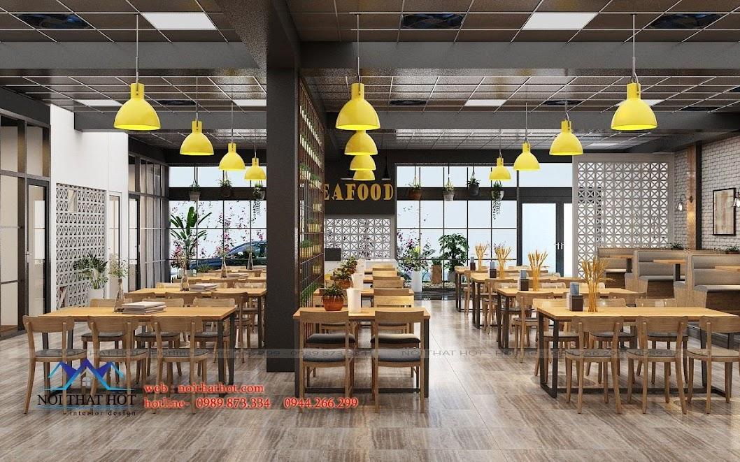 thiết kế nhà hàng dẹp, giá hợp lý 16