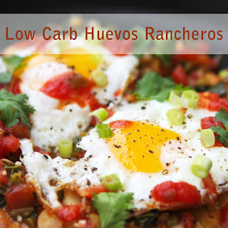 Low Carb Breakfast - Huevos Rancheros