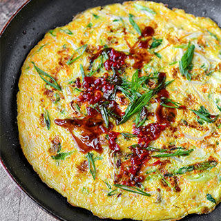 Chinese Vegetable Omelette Recipes.