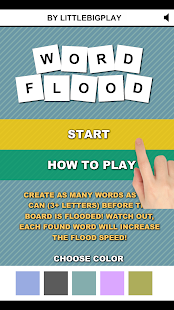 Word Flood PRO Screenshot
