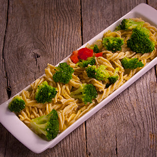 Fusilli with Broccoli.