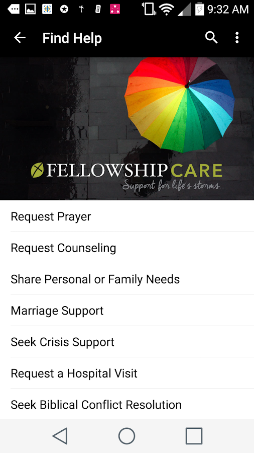 Fellowship Greenville Church- screenshot