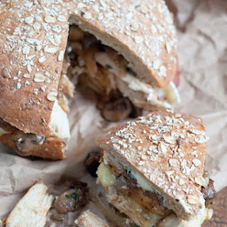 Chicken, Bacon & Mushroom Sandwich Recipe
