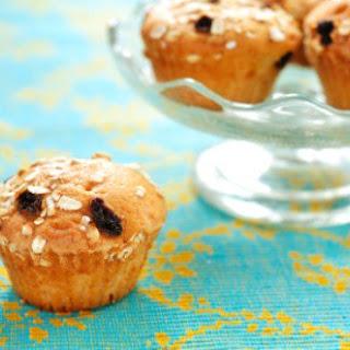 Jeanne's Oatmeal Raisin Muffins.