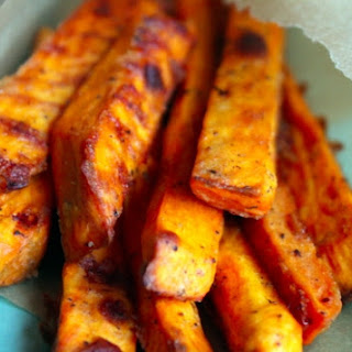 Crispy Baked Sweet Potato Fries