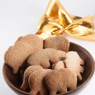 Molasses-Free Vegan Gingerbread Cookies.