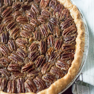 Bourbon and Browned Butter Pecan Pie.