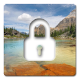 lock screen - nature animation