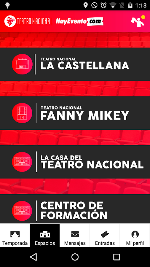 Teatro Nacional- screenshot