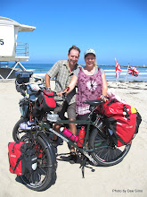 Photo: (Year 3) Day 32 - The Start of our Coast to Coast Ride Across the USA (The Pacific Ocean in San Diego) #3