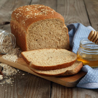 Vermont Whole Wheat Oatmeal Honey Bread.