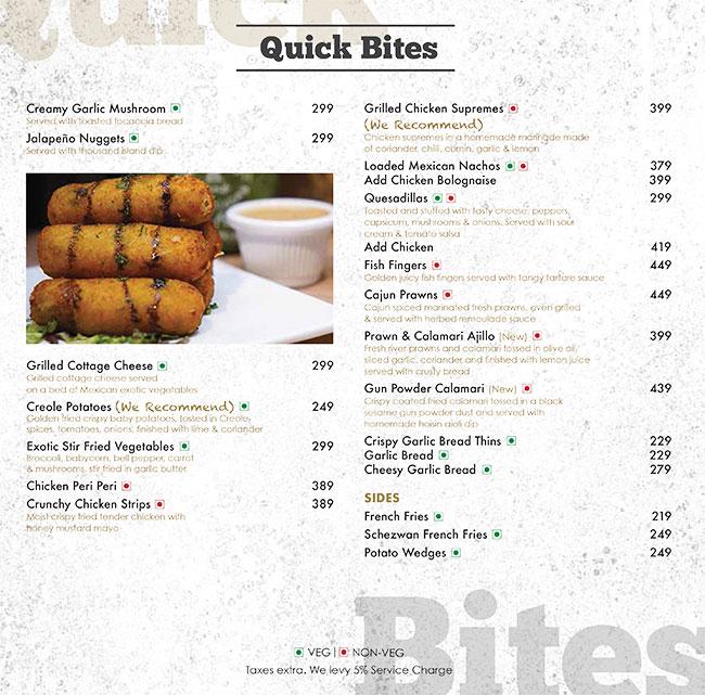 Aromas Cafe menu 13