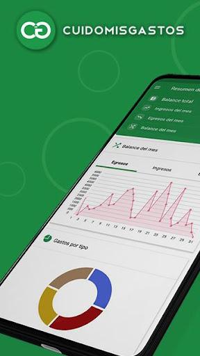 Cuido Mis Gastos - Control your expenses easily screenshot 1