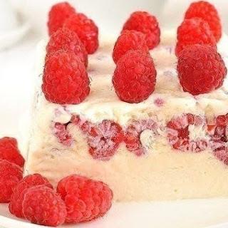 Semifreddo with Raspberries Recipe