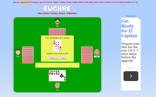 rules for euchre how to play