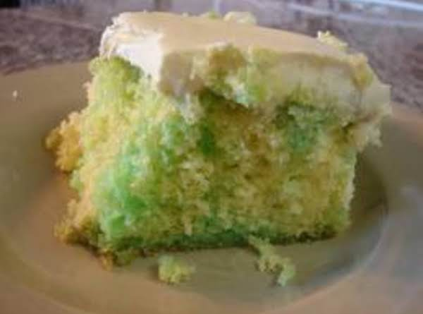 Lemon-lime Gelatin Cake Recipe