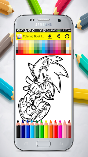 Coloring Book for Sonic 1.0 screenshots 7